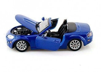 Mazda Mx5 Bleu - photo 2