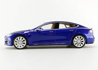 Tesla Model S Bleu - photo 2
