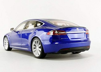 Tesla Model S Bleu - photo 3