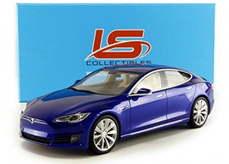 Tesla Model S Bleu - photo 7