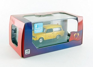 Trabant 601 Jaune - photo 3